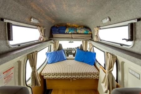 Innenansicht Hippie Camper Hippie Endeavour