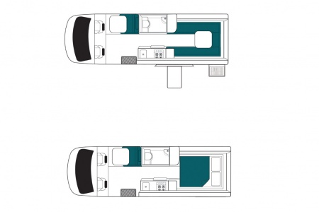 Floor plan - Maui, Spirit 2 T/S Ultima