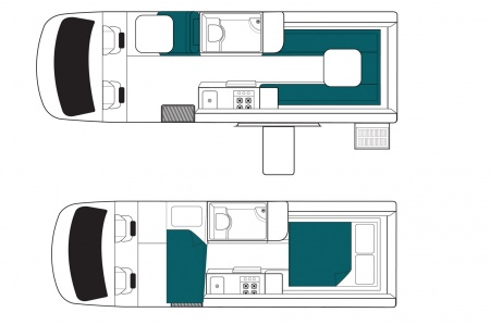 Floor plan - Maui, Ultima Plus