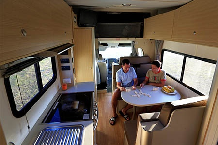 Interior view - Mighty Campers, Double Up