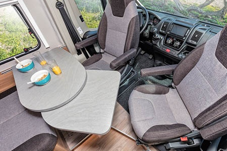 Interior view - Apollo Motorhome Holidays, Duo