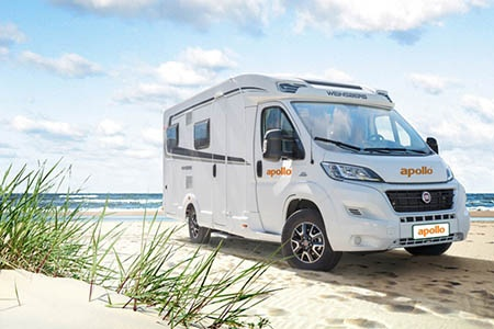 Aussenansicht Apollo Motorhome Holidays Deutschland Duo Plus