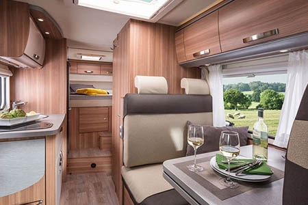 Interior view - Apollo Motorhome Holidays, Duo Plus