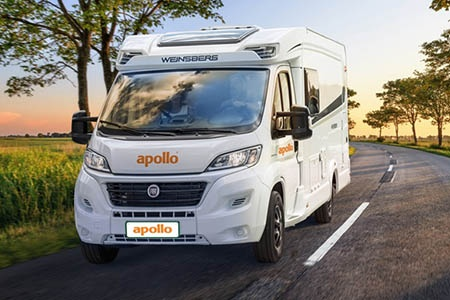 Aussenansicht Apollo Motorhome Holidays Duo Plus