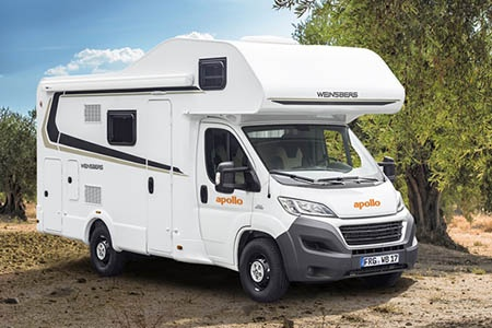 Aussenansicht Apollo Motorhome Holidays Family Traveller