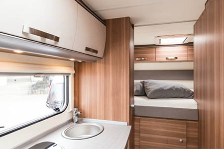 Interior view - Apollo Motorhome Holidays, Family Traveller