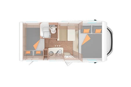 Floor plan - Apollo UK, Family Traveller