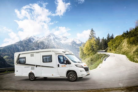 Aussenansicht Apollo Motorhome Holidays Deutschland Family Traveller Plus