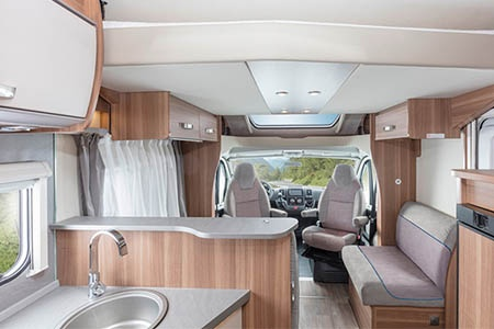 Interior view - Apollo Motorhome Holidays, Family Traveller Plus