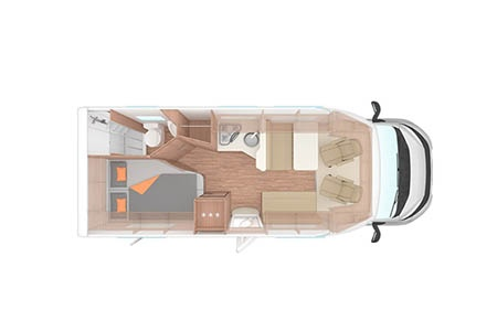 Floor plan - Apollo UK, Family Traveller Plus