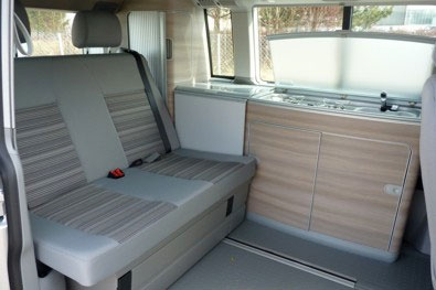 Interior view - DRM, A2 California Comfort