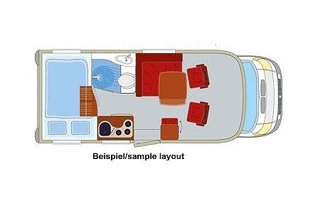 Grundriss DRM B2 Compact Cruiser