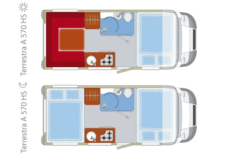 Floor plan - DRM, C2 Family Cruiser