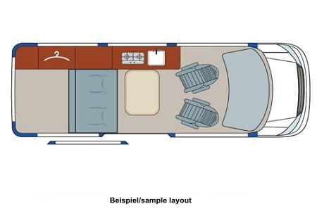 Floor plan - DRM, M1 California Star