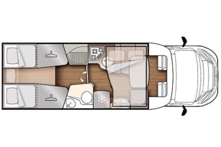Floor plan - DRM, K4 Classic Star