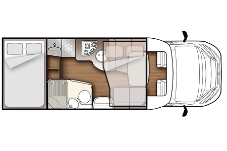 Floor plan - DRM, K3 Classic Cruiser