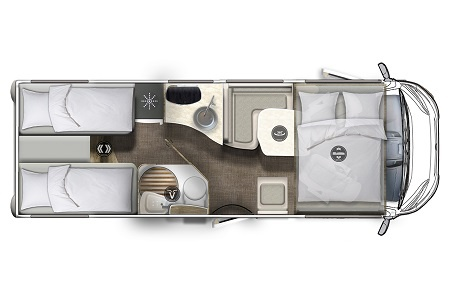 Floor plan - DRM, L1 Comfort Star