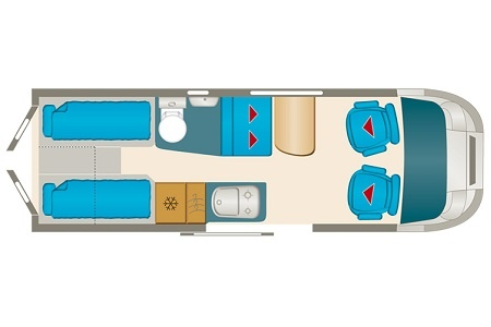 Floor plan - DRM, V3 Compact Tourer