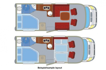 Floor plan - DRM, D2 Classic Cruiser