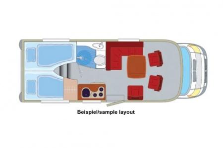 Floor plan - DRM, K2 Classic Comfort