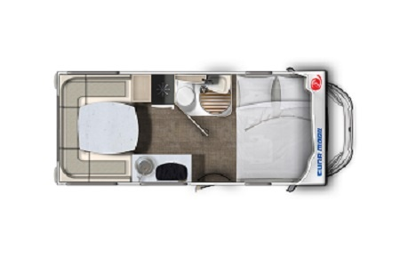 Floor plan - DRM, F2 Family Cruiser