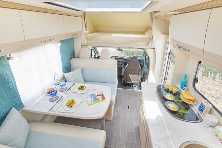 Interior view - DRM, F1 Family Traveller