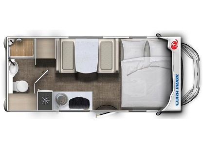 Floor plan - DRM, F1 Family Traveller