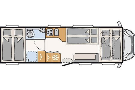 Floor plan - McRent, Premium Plus