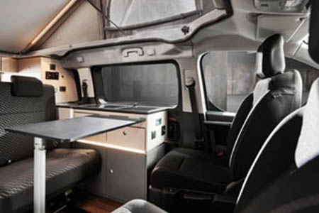 Interior view - McRent, Urban Vehicle