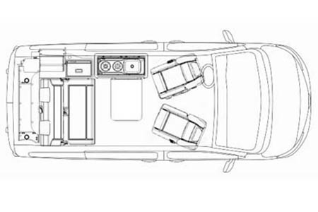 Floor plan - McRent, Urban Vehicle