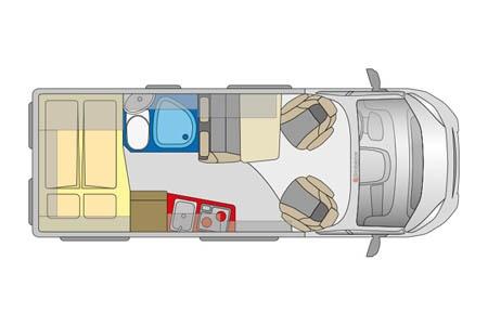 Grundriss McRent Compact Standard
