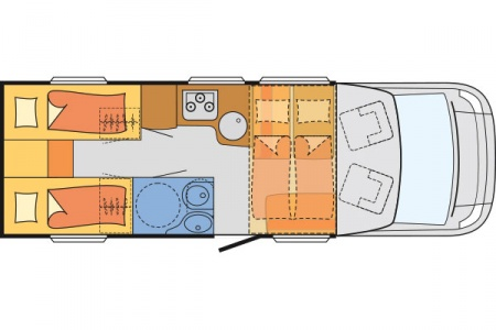 Floor plan - McRent, Family Standard