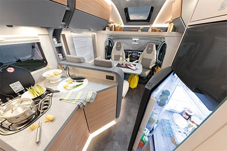 Interior view - McRent, Comfort Plus