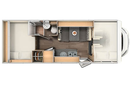 Floor plan - McRent, Family Luxury