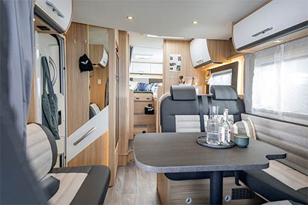 Interior view - McRent Ireland, Family Standard