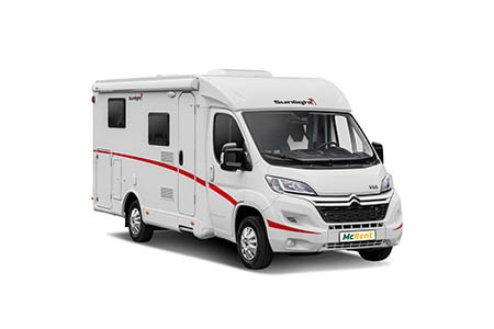 Exterior view - McRent Ireland, Compact Plus