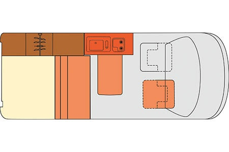 Floor plan - McRent, Urban Standard
