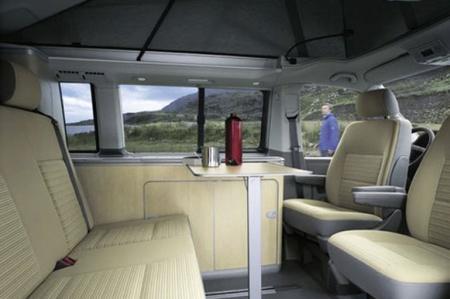 Innenansicht McRent VW California / Mercedes Marco Polo
