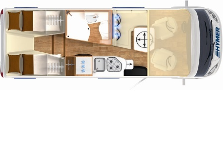 Floor plan - rent easy Germany, Active First
