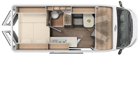 Floor plan - rent easy Germany, City Extra