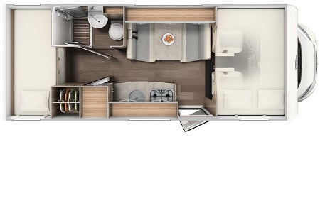 Floor plan - rent easy Germany, Family Extra
