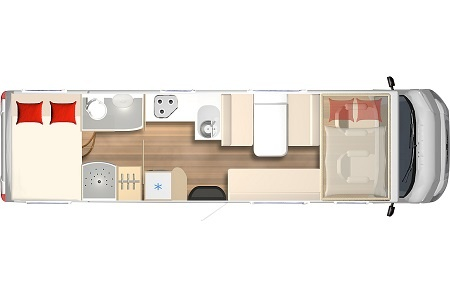 Floor plan - rent easy Germany, Premium Extra