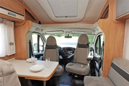 Interior view - McRent, Comfort Standard