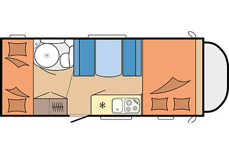 Floor plan - Touring Cars, TC Family