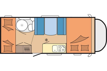 Floor plan - Touring Cars, TC Large 5