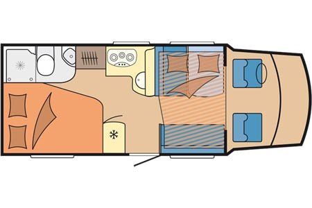 Floor plan - Touring Cars, TC Medium Luxury