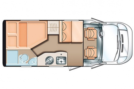 Floor plan - Touring Cars, TC Small