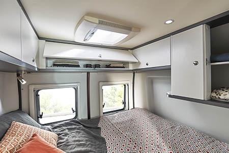 Interior view - Avis Car-Away, Camper Van Plus