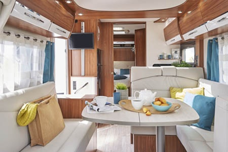 Interior view - Avis Car-Away, Classic B 4-Berth