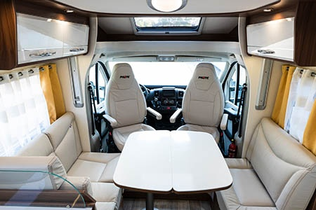 Interior view - Avis Car-Away, Comfort B 4-Berth Automatic + GPS